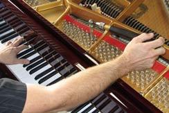 تعمیر پیانو | کوک و رگلاژ پیانو | آکوستیک و دیجیتال