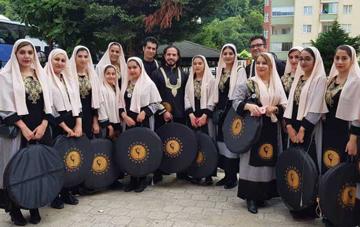 گزارش تصویری دف نوازان کژال در جشنواره فرهنگ و هنر ترکیه