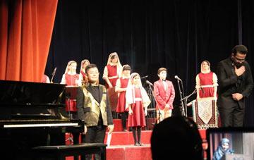 فیلم اجرای ارکستر شهرآوا در جشنواره نوای خرم