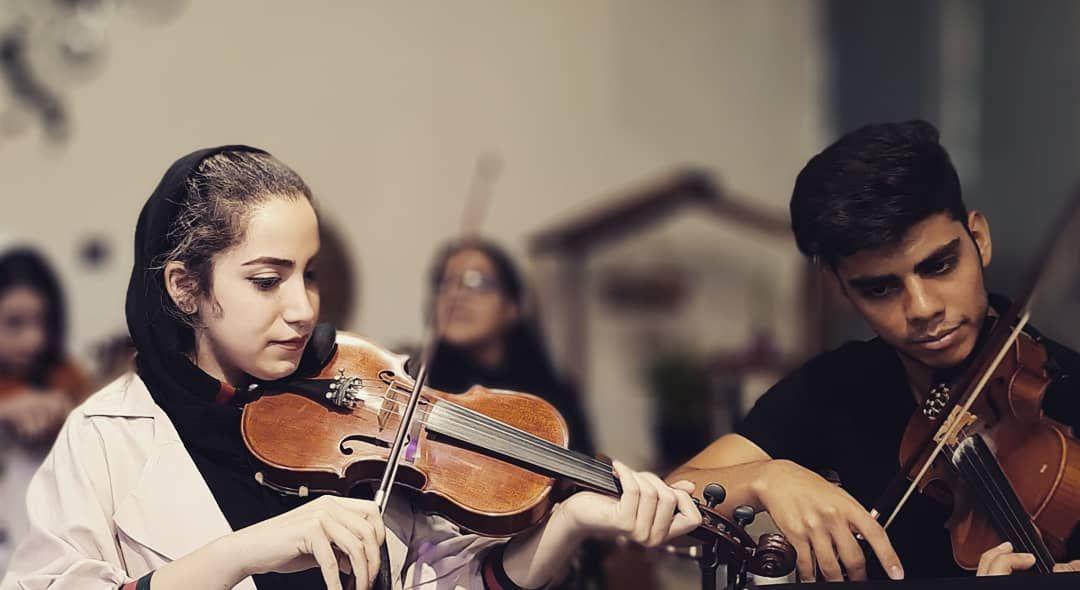 تمرین ویولن