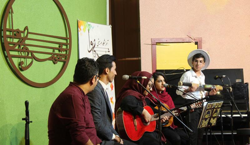 کنسرت آموزشگاه موسیقی شهرآوا