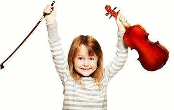 نکاتی درباره آموزش ویولن