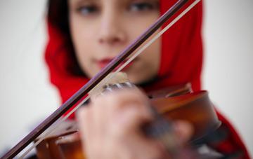 چند نکته ضروری حین تمرین ویولن